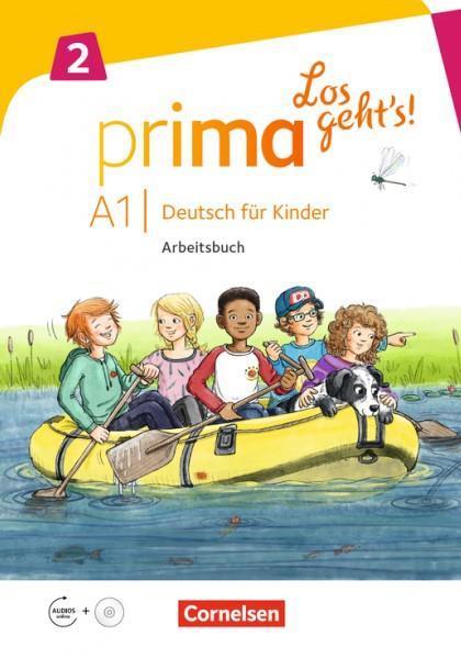 PRIMA LOS GEHT S A1.2 ARBEITSBUCH (+ CD)