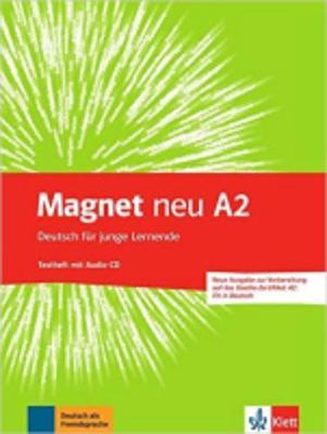 MAGNET A2 TESTHEFT ( CD) (GOETHE-ZERTIFIKAT A2: FIT IN DEUTSCH DEUTSCH FÜR JUNGE LERNENDE) NEU