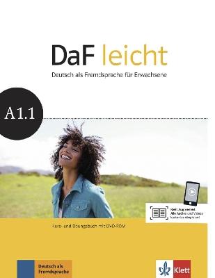 DAF LEICHT A1.1 KURSBUCH & ARBEITSBUCH (+ DVD-ROM)