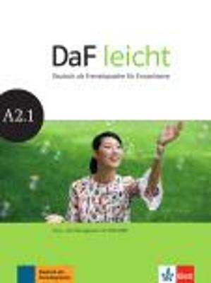 DAF LEICHT A2.1 KURSBUCH & ARBEITSBUCH (+ DVD-ROM)