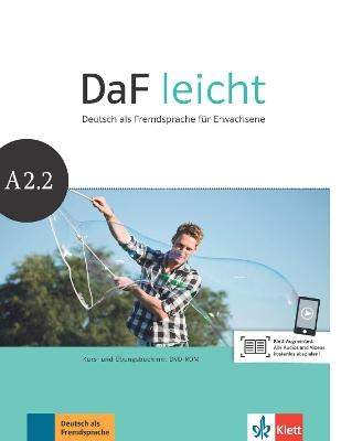 DAF LEICHT A2.2 KURSBUCH & ARBEITSBUCH (+ DVD-ROM)