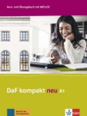 DAF KOMPAKT NEU A1 KURSBUCH & ARBEITSBUCH (+ CD AUDIO MP3)