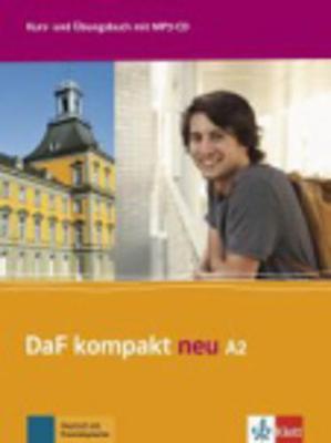 DAF KOMPAKT NEU A2 KURSBUCH & ARBEITSBUCH (+ CD AUDIO MP3)