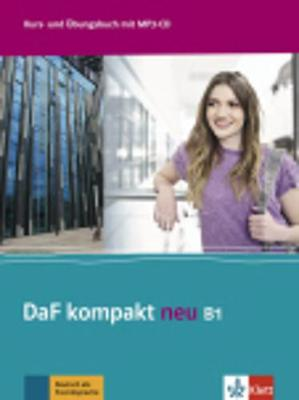 DAF KOMPAKT NEU B1 KURSBUCH & ARBEITSBUCH (+ CD AUDIO MP3)