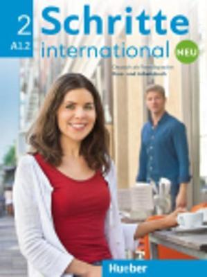 SCHRITTE INTERNATIONAL 2 KURSBUCH  ARBEITSBUCH ( CD) NEU