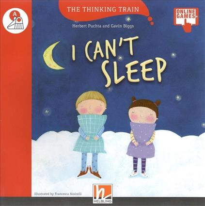 Red Series I CAN T SLEEP- READER + AUDIO CD + E-ZONE NEW EDITION (RED SERIES 3)