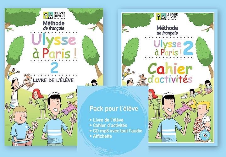 ULYSSE A PARIS 2 PACK ELEVE