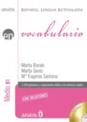 EN VOCABULARIO B1 MEDIO (+AUDIO CD) CON SOLUCIONES N/E
