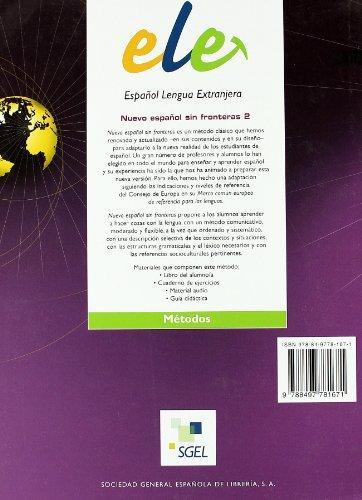 ESPANOL SIN FRONTERAS 2 B1  B2 EJERCICIOS NE