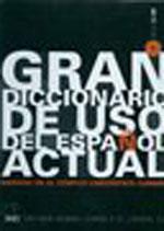 GRAN DICCIONARIO DE USO ESPANOL ACTUAL (+ CD-ROM) HC