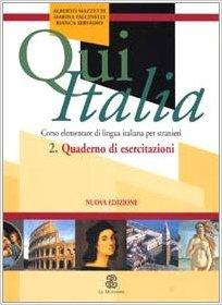 QUI ITALIA - 2 QUADERNO DI ESERCITAZIONI N E
