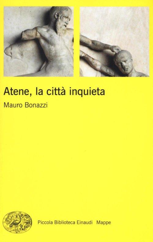 ATENE , LA CITTA INQUIETA  COPERTINA FLESSIBLE