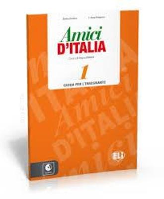 AMICI D ITALIA 1 GUIDA INSEGNANTE (+ AUDIO CDs (3))
