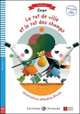 LEP 3: LE RAT DE VILLE ET LE RAT DES CHAMPS (+ CD)