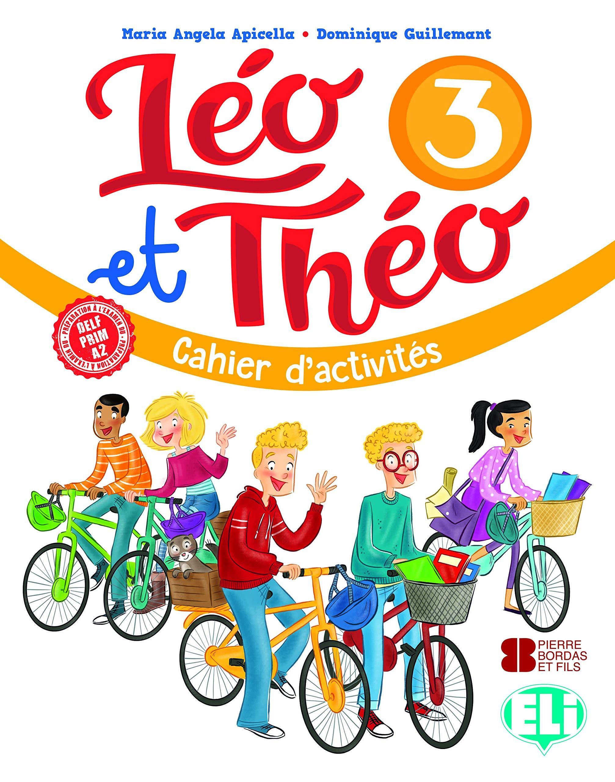 LEO ET THEO 3 CAHIER (+ CD)