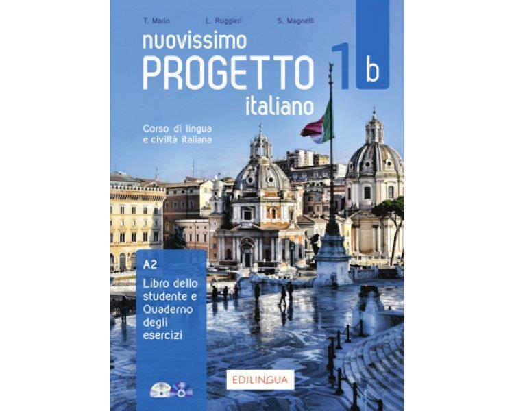 NUOVISSIMO PROGETTO ITALIANO 1Β ELEMENTARE STUDENTE ED ESERCIZI (+ CD + DVD-ROM)
