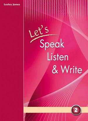LET S SPEAK LISTEN & WRITE 2 SB