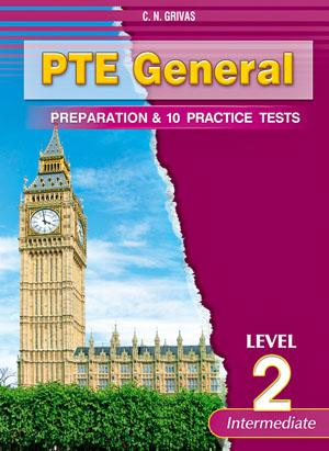 PTE GENERAL LEVEL 2 PREPARATION & 10 PRACTICE TESTS SB