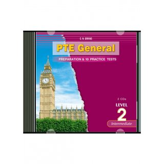 PTE GENERAL LEVEL 2 PREPARATION & 10 PRACTICE TESTS CD (2)