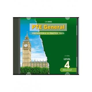 PTE GENERAL LEVEL 4 PREPARATION & 10 PRACTICE TESTS CD (2)