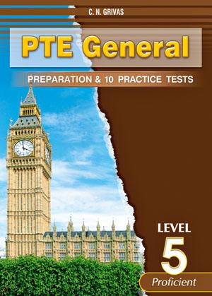 PTE GENERAL LEVEL 5 PREPARATION & 10 PRACTICE TESTS SB