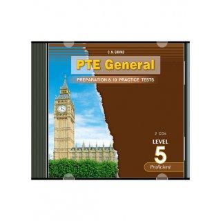 PTE GENERAL LEVEL 5 PREPARATION & 10 PRACTICE TESTS CD (2)
