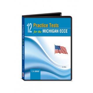 12 PRACTICE TESTS MICHIGAN ECCE CD CLASS (6) 2013 N E