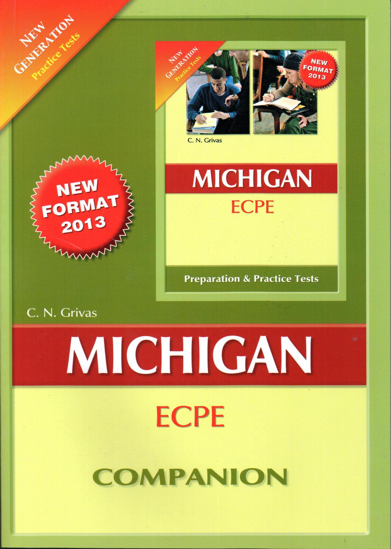 NEW GENERATION MICHIGAN ECPE COMPANION 2013 N E