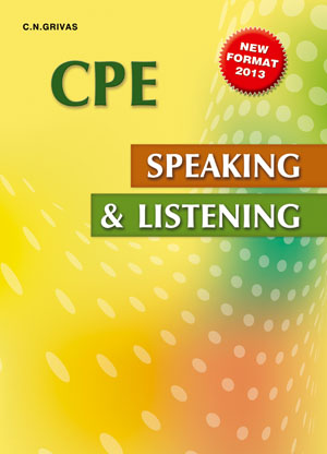 CPE SPEAKING & LISTENING SB 2013 N E