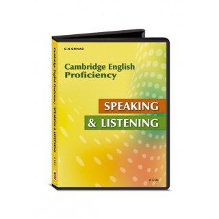 CPE SPEAKING & LISTENING CD CLASS (4) 2013 N E