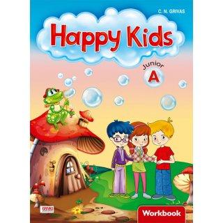 HAPPY KIDS JUNIOR A WB (+ WORDS & GRAMMAR)