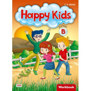 HAPPY KIDS JUNIOR B WB (+ WORDS & GRAMMAR)