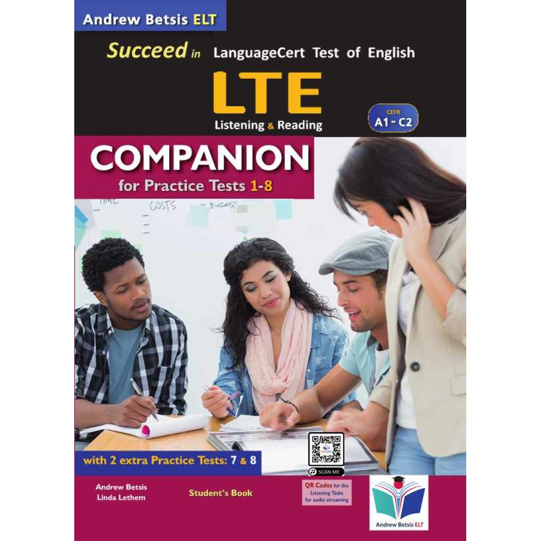 SUCCEED IN LANGUAGECERT LTE A1-C2 COMPANION (TESTS 7-8)