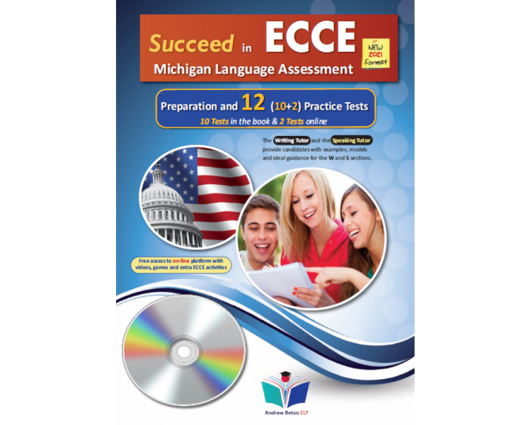 SUCCEED IN MICHIGAN ECCE 12 PRACTICE TESTS 2021 FORMAT MP3 CD