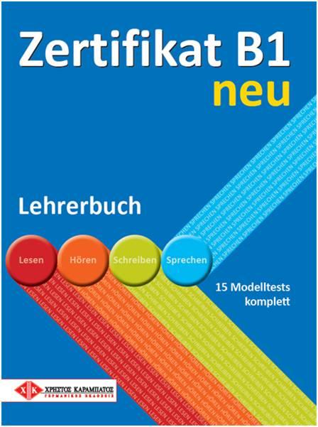 ZERTIFIKAT B1 LEHRERBUCH NEU