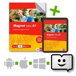 MAGNET A1 ARBEITSBUCH (+ CD) +KLETT BOOK APP NEU
