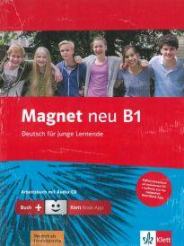 MAGNET B1 ARBEITSBUCH (+ CD) +KLETT BOOK APP NEU