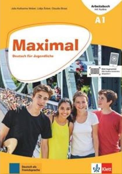 MAXIMAL A1 ARBEITSBUCH (+mit Audios online + Klett Book-App)