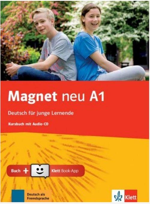 MAGNET A1 KURSBUCH (CD  KLETT BOOK-APP) NEU
