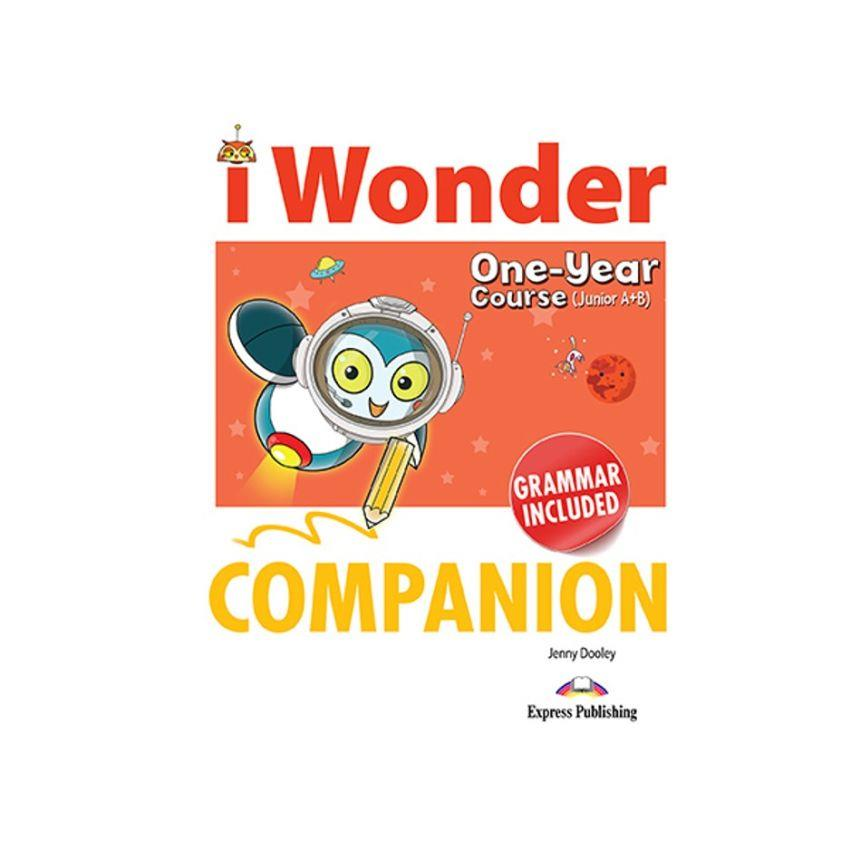 iWONDER JUNIOR A+B (ONE YEAR COURSE) COMPANION & GRAMMAR
