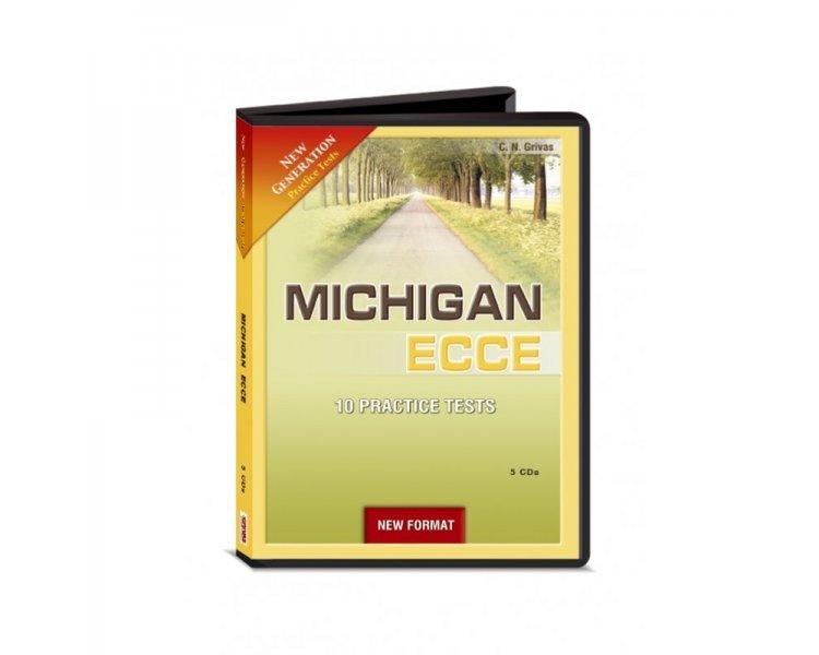 NEW GENERATION MICHIGAN ECCE 10 PRACTICE TESTS CD CLASS (5) NEW FORMAT 2021