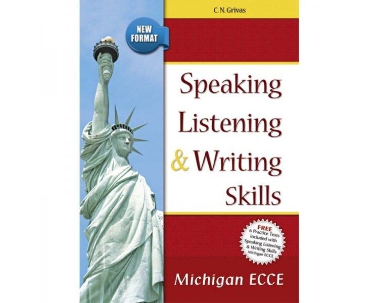 SPEAKING LISTENING  WRITING SKILLS MICHIGAN ECCE SB ( 6 PRACTICE TESTS) NEW FORMAT 2021