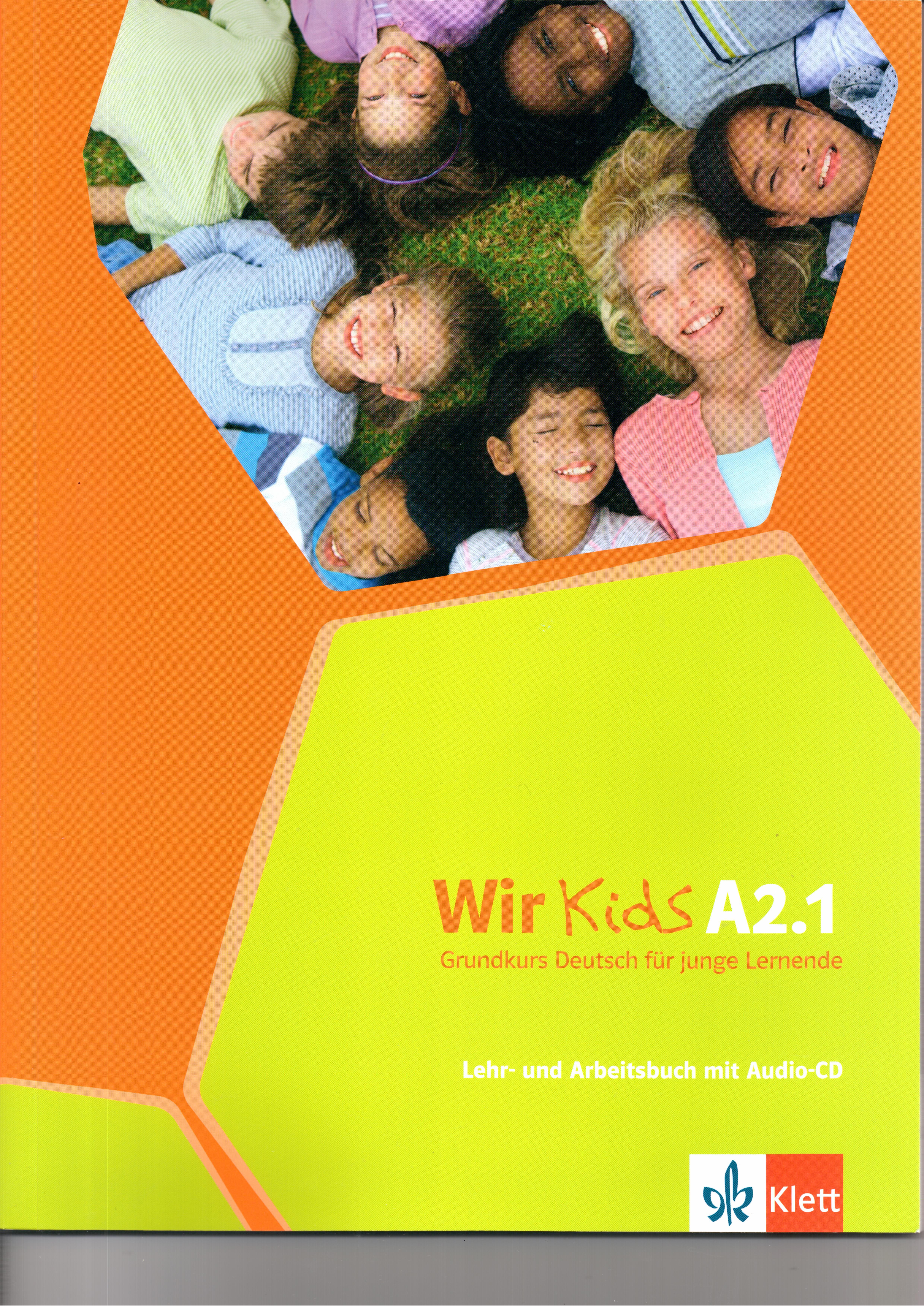 WIR KIDS A2.1 KURSBUCH & ARBEITSBUCH (+ CD)