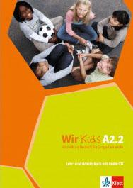 WIR KIDS A2.2 KURSBUCH & ARBEITSBUCH (+ CD)