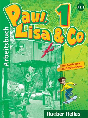 PAUL, LISA & CO 1 ARBEITSBUCH MIT AUFKLEBERN UND SPIELVORLAGEN