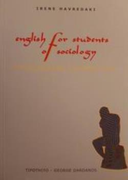 ENGLISH FOR STUDENT OF SOCIOLOGY SOCIOLOGICAL PERSPECTIVES