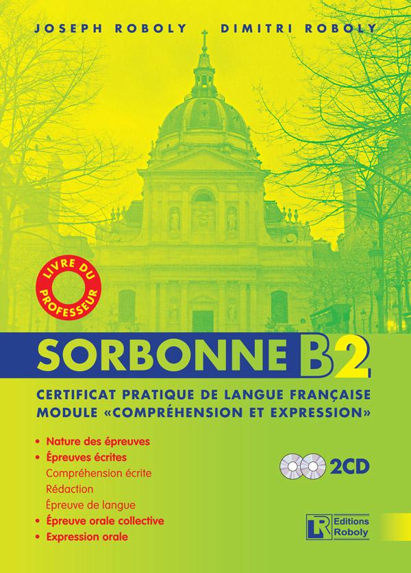 SORBONNE B2 PROFESSEUR