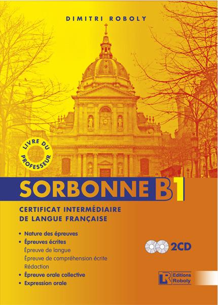 SORBONNE B1 PROFESSEUR