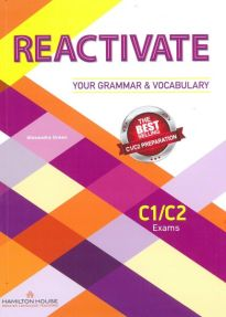 REACTIVATE YOUR GRAMMAR & VOCABULARY C1 + C2 SB