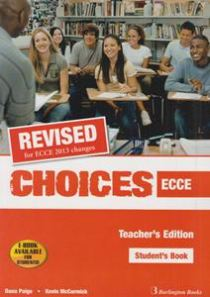 CHOICES ECCE TCHR S 2013 REVISED